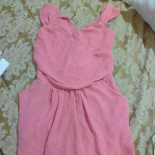 Casual / Formal Pink Dress