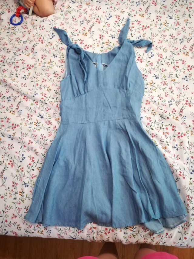 Casual denim dress