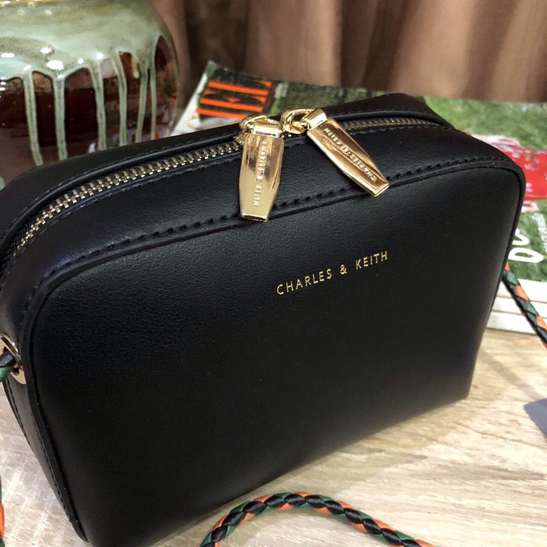 Charles Keith Womens Crossbody Sling Bag Fashion Bags Ampamp Mini Messenger Wallets On Carousell