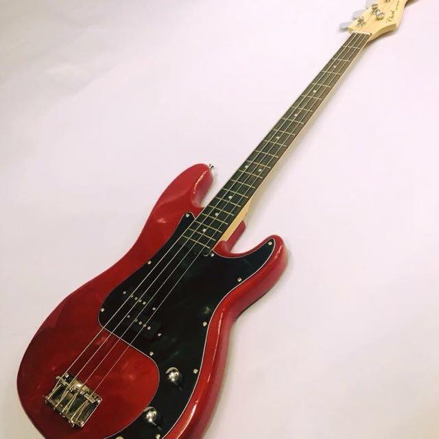 Chord Bass Guitar (RED)