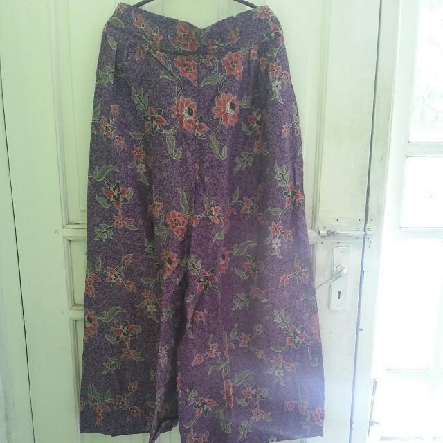 Cullote Batik