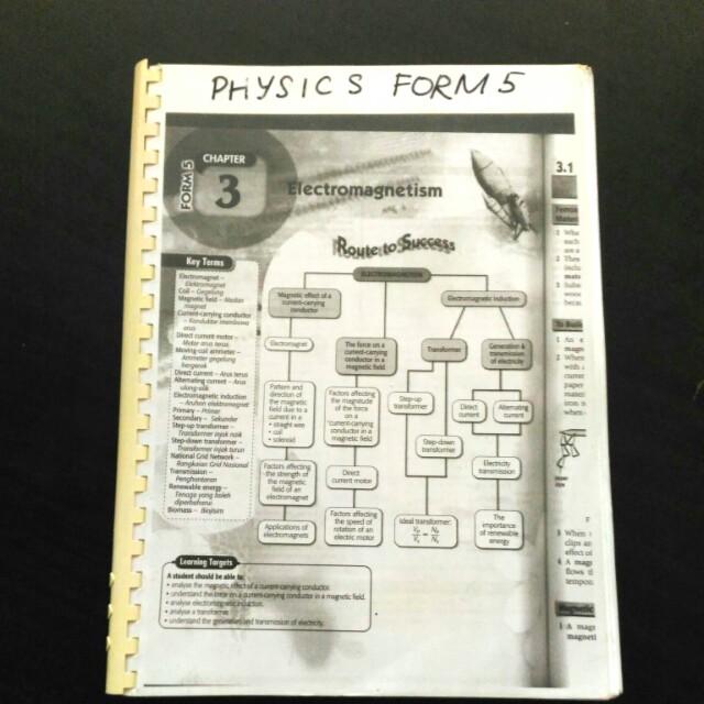 FORM 5 PHYSICS