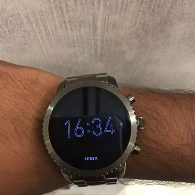 Fossil Q Gen 3 smartwatch Q Explorist