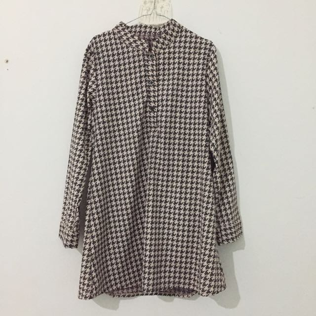 Gamis houndstooth