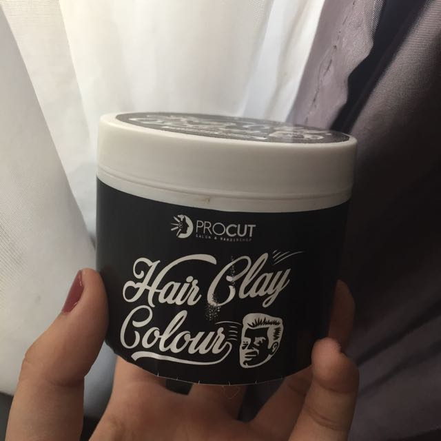 Hair Clay Colour Ungu/Purple