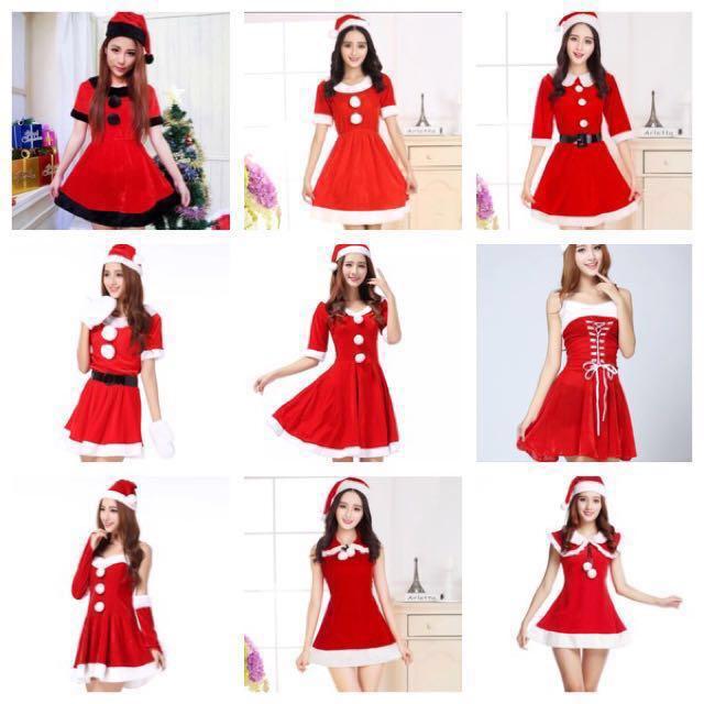 IN STOCK Santarina Costume Santa Dress Christmas Costume Santa Claus ...