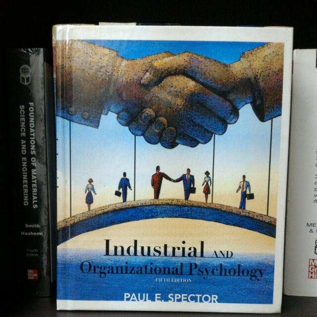 INDUSTRIAL AND ORGANIZATIONAL PSYCHOLOGY ( hardcover)