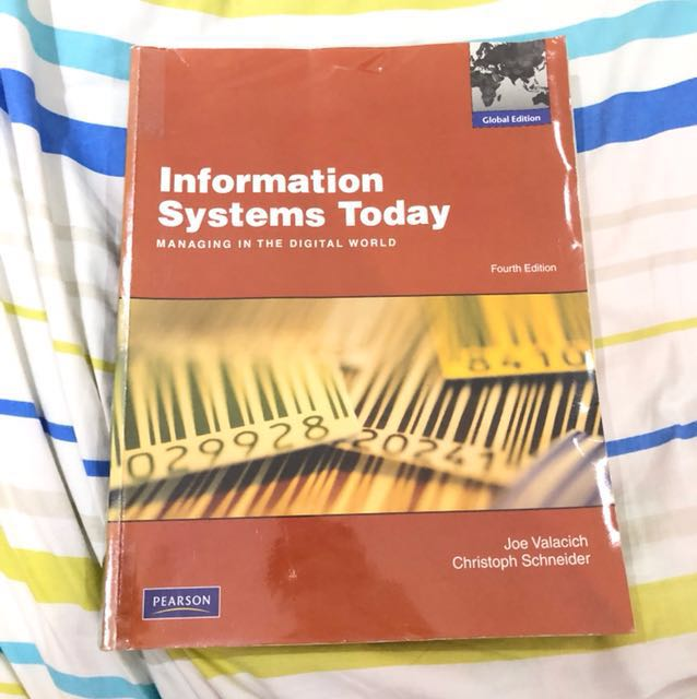 Information systems today is1105 nus textbook books stationery photo photo photo photo photo fandeluxe Images