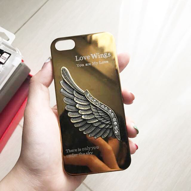 Iphone 5 wings case