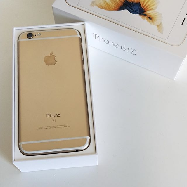 iPhone 6s 128G gold 4.7""