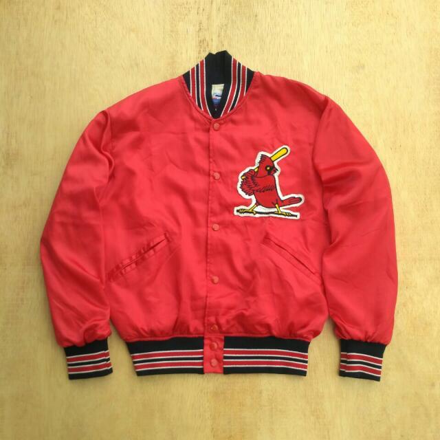 Jaket Baseball Saint Louis Cardinals Made In USA