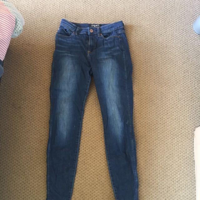 Jeans west size 8