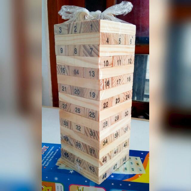 Jenga 48 Blok - #jenga