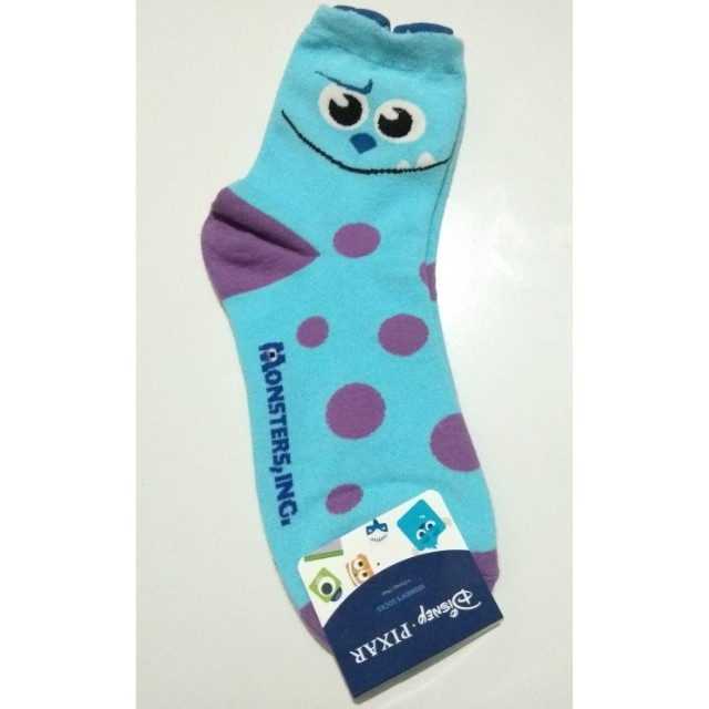 kaos kaki (sock) Monster Inc, made in Korea.