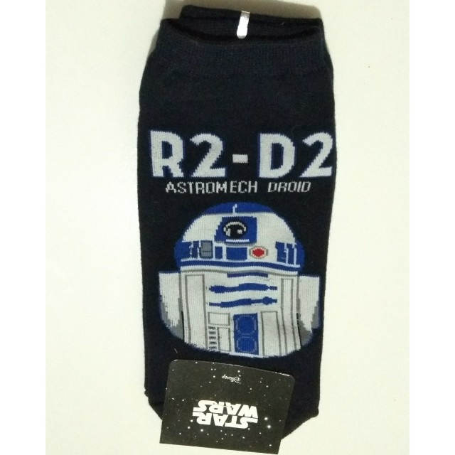 kaos kaki (sock) R2 - D2 Star Wars, made in Korea.