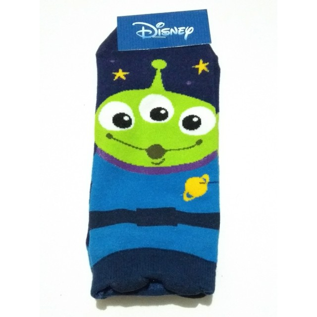 kaos kaki (sock) Squeeze Toy Aliens, made in Korea.