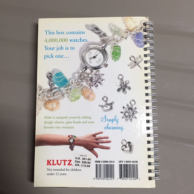 Klutz diy watch kit