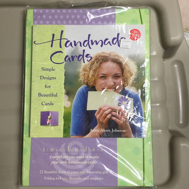 Klutz Handmade cards