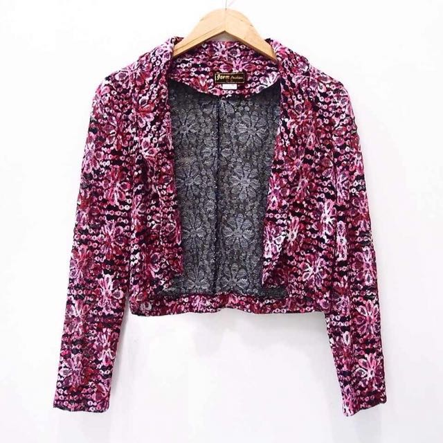 lace flowery outer