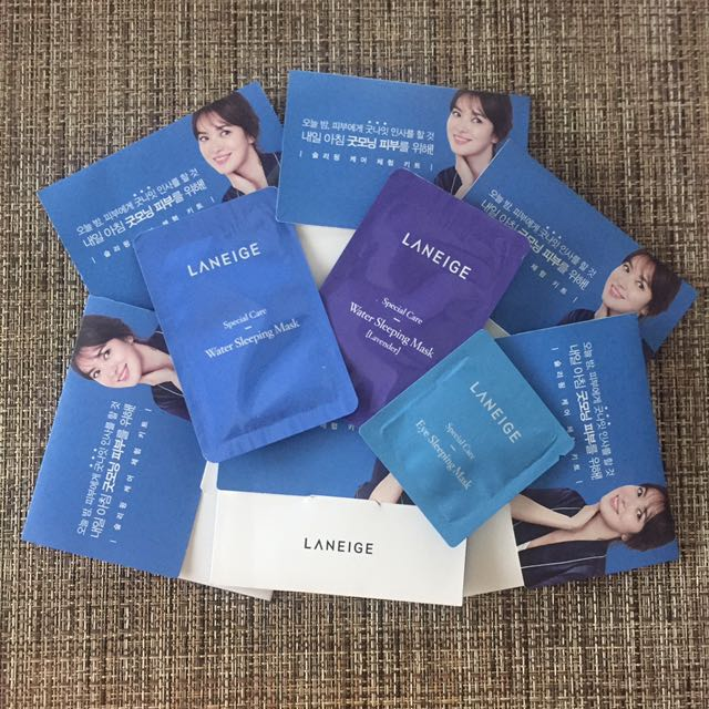 Laneige Special Care Mask Trial Kit