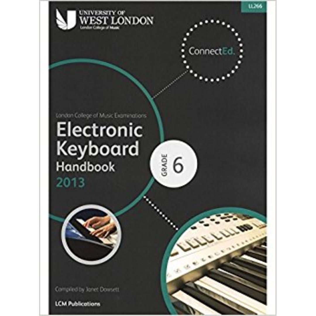 LCM Electronic Keyboard Grade 6 Handbook 2013 (in stock)