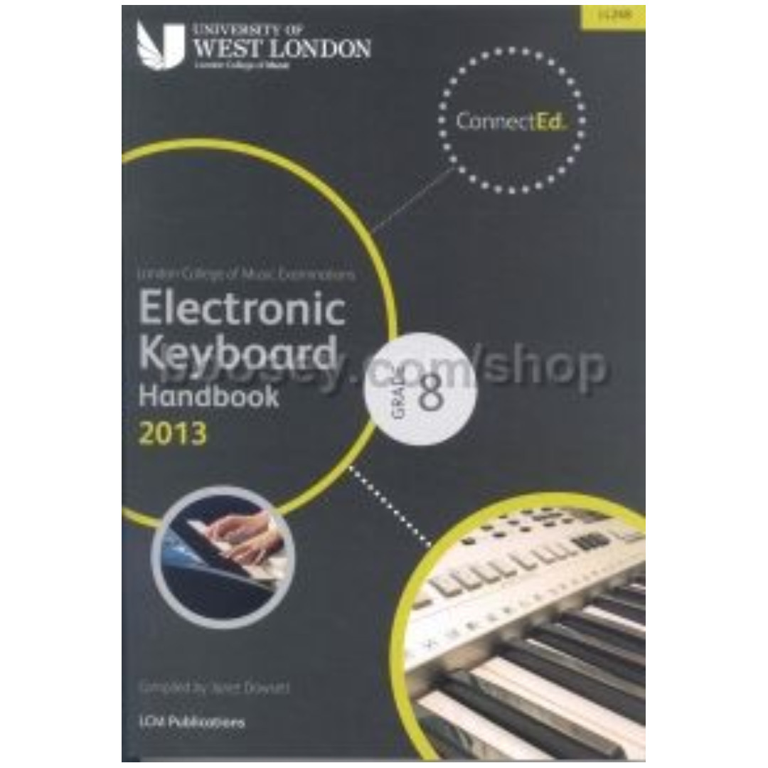 LCM Electronic Keyboard Grade 8 Handbook 2013 (in stock)