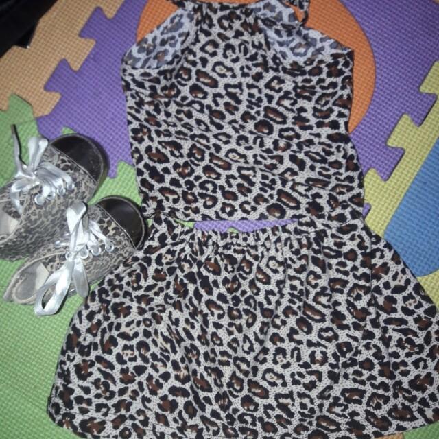 Mother & Daughter Leopard dress