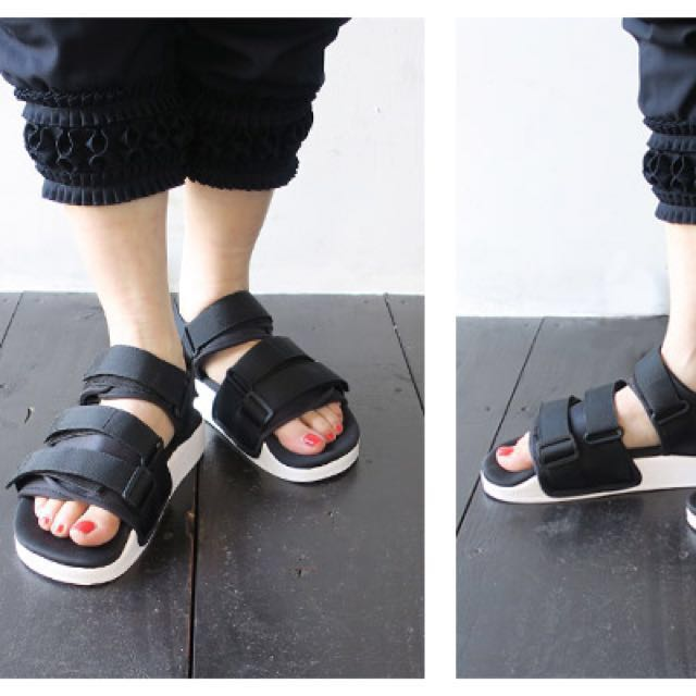 afc343d2c1fd Limited Time Offer) Adidas Originals Adilette Chunky Strap Sandals ...