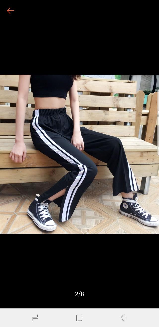 Long pants sports style