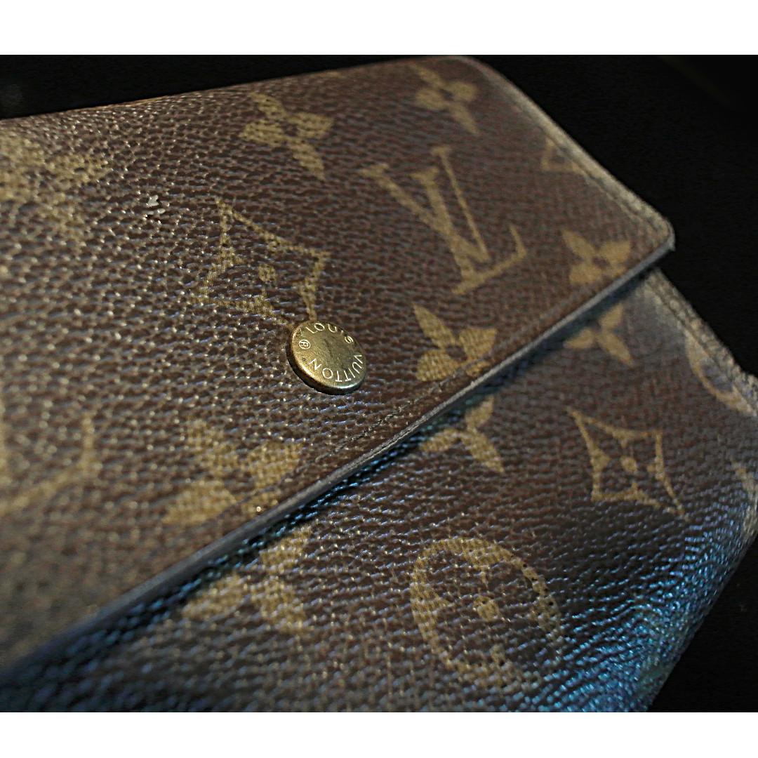 4edfa5be98ed Louis Vuitton Monogram Porte-tresor etui papiers Trifold Wallet ...