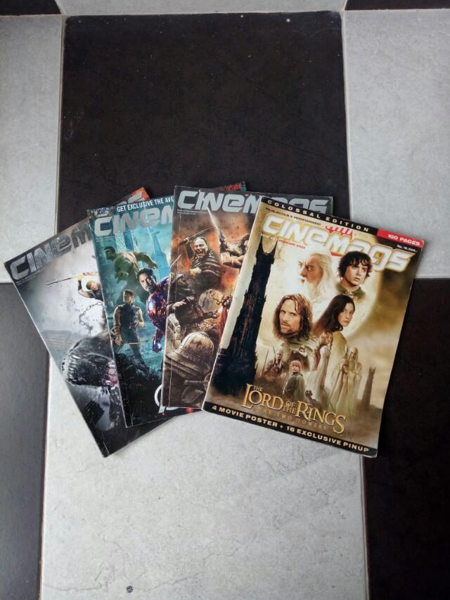 Majalah film paketan