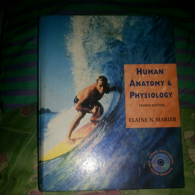 MARIEB 4th edition Human anatomy & physiology, Textbooks on Carousell
