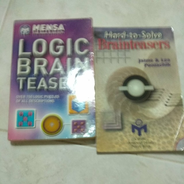 Mensa logic brain teasers and hard to solve brainteasers