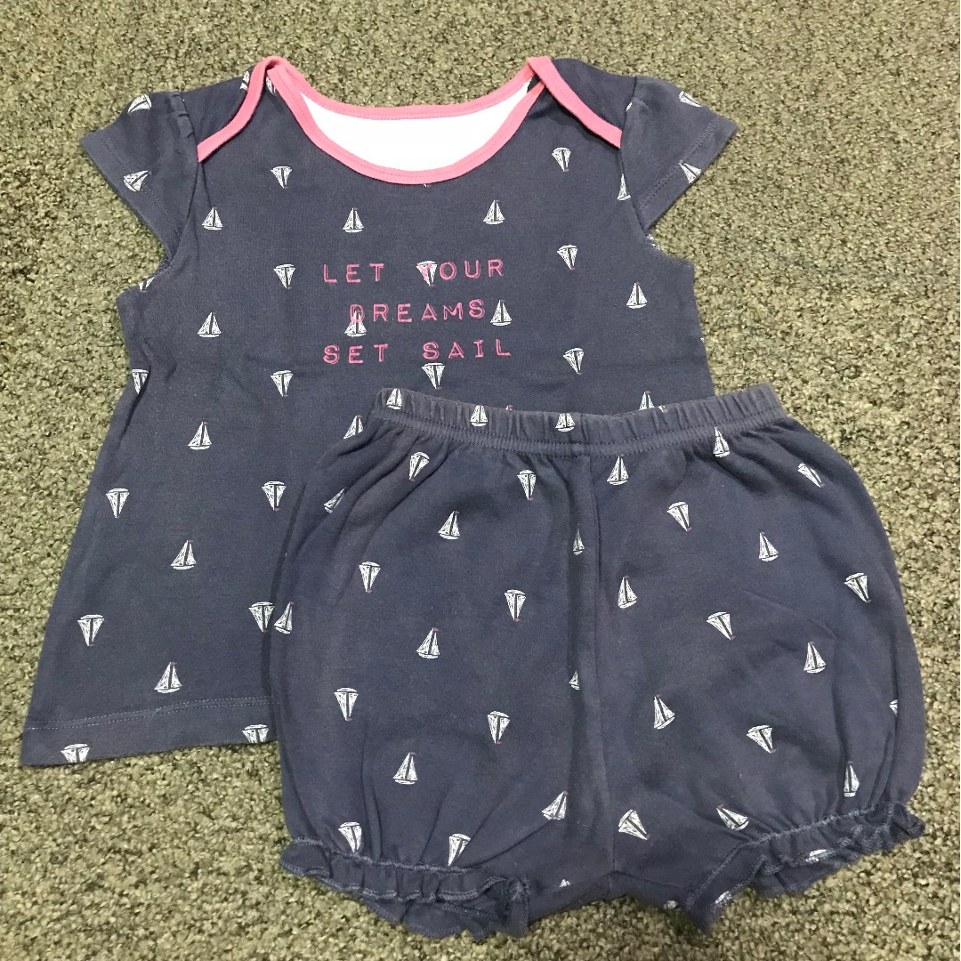 MotherCare Top and Bottom Set