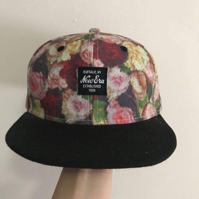 New Era Floral Snapback (Unisex) 4ea0e6a0d41