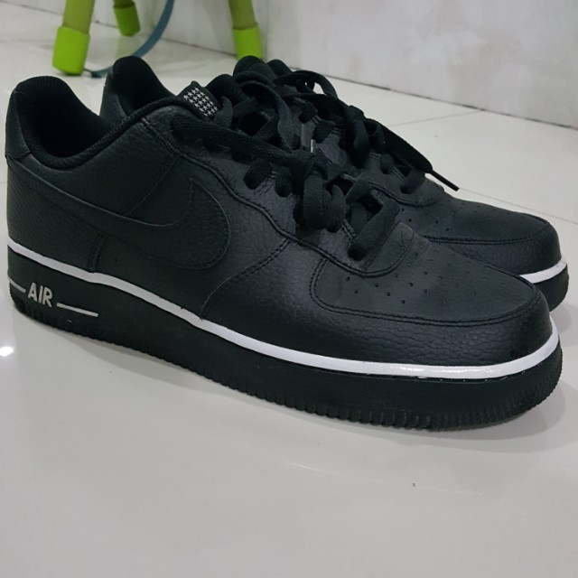 Nike Air Force 1 Pivot Black (Not adidas, nmd, ultraboost,yeezy), Preloved  Fesyen Pria, Sepatu di Carousell