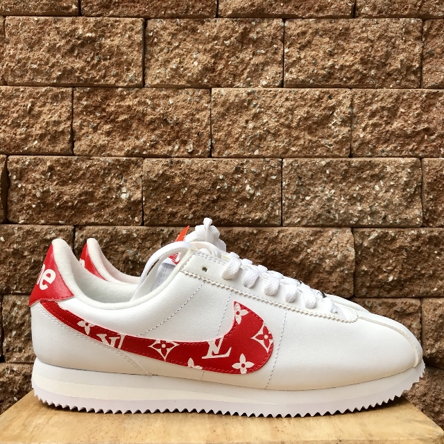 hot sale online e2b92 cd279 ... PO Nike Cortez x Supreme x LV (Custom), Mens Fashion, ...