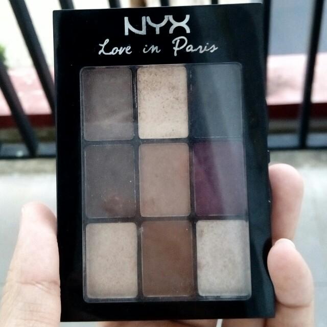 NYX Eyeshadow Love In Paris no 10