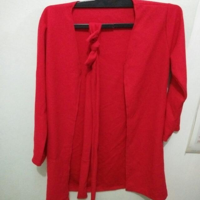 Outer / Luaran / Cardigan Merah