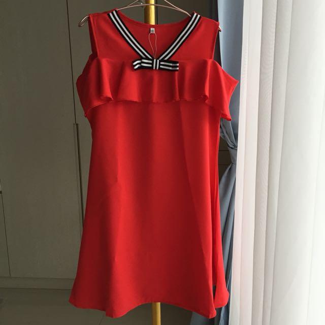 PANELLI Red Dress