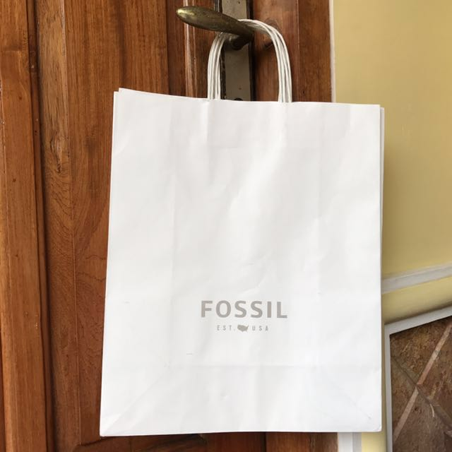 Paper bag Fossil paperbag Store