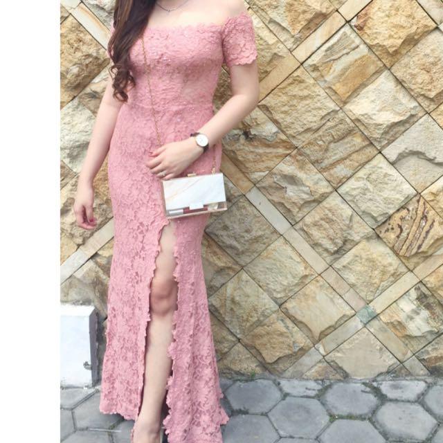 Peachpinkish gown