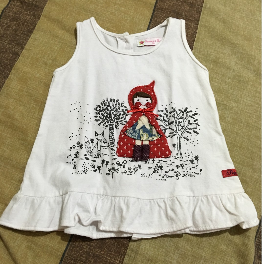 Peppermint Baby Sleeveless Blouse