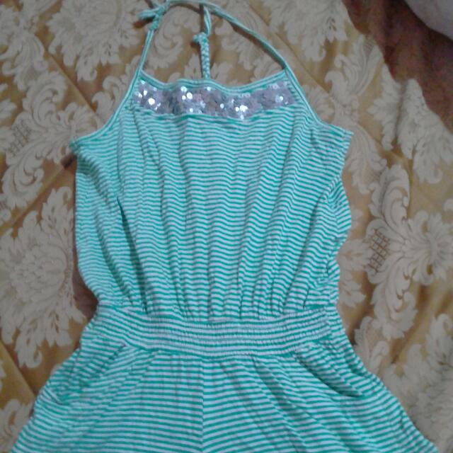 Pre-Teen Girl's Jumpshort Outfit