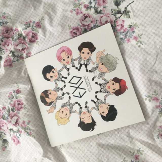 PRICE DROPP Exo Colouring Book K Wave On Carousell