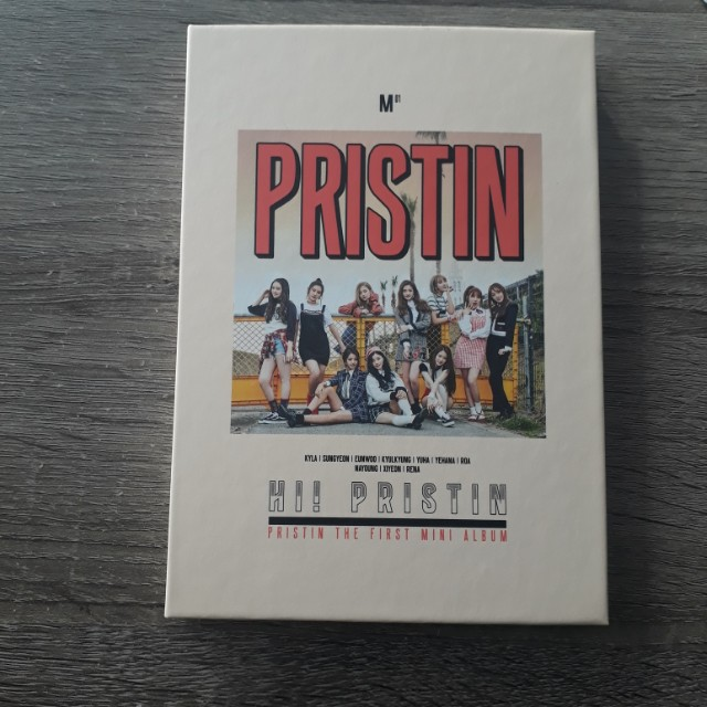 PRISTIN FIRST ALBUM ONLY