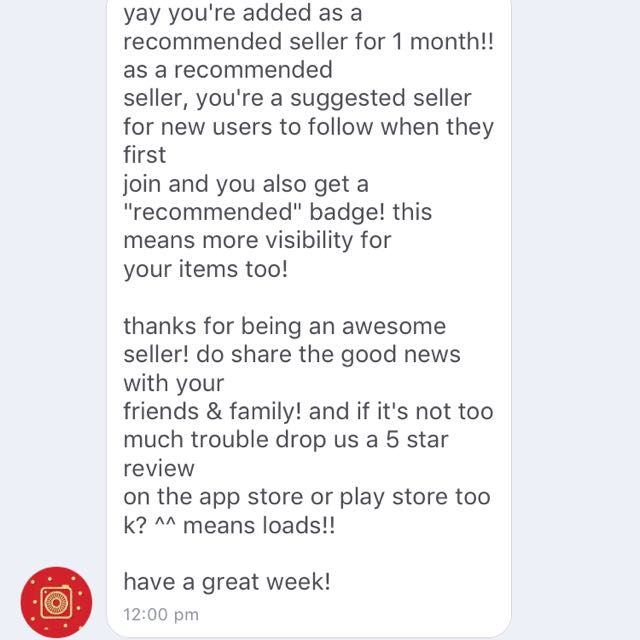 Recommended Seller - Thank you Carousell!!!