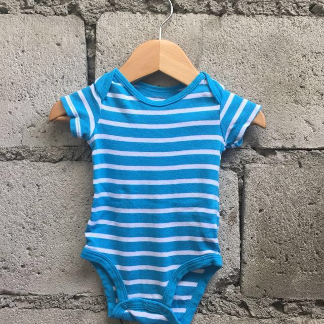 REPRICED! Blue Striped Bodysuits