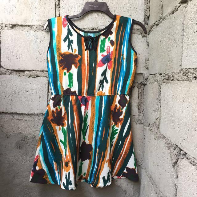 REPRICED! Round Neck Midi Dress