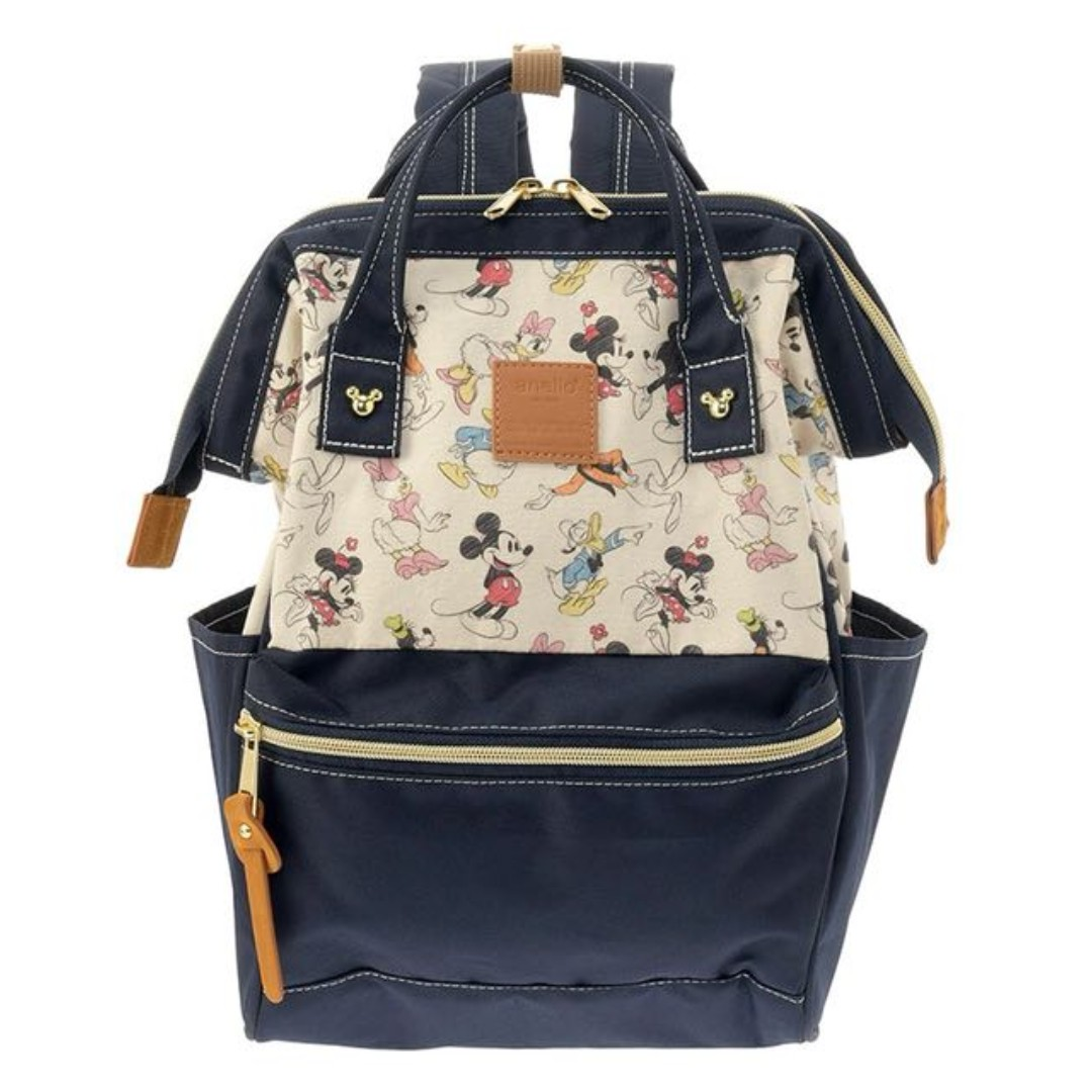 ed96b9ac1f1 Re-Stock  Japan Anello Disney Mickey Mouse   Friends Sketch Backpack ...